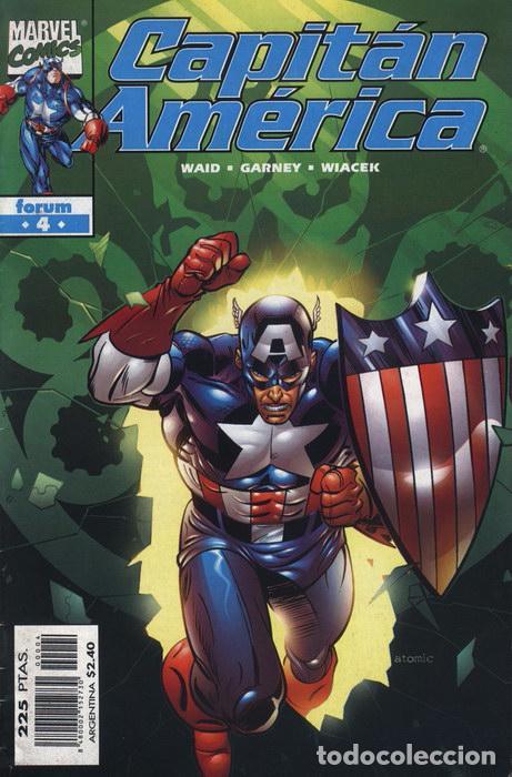 CAPITÁN AMÉRICA VOL.4 Nº 4 FORUM IMPECABLE (Tebeos y Comics - Forum - Capitán América)