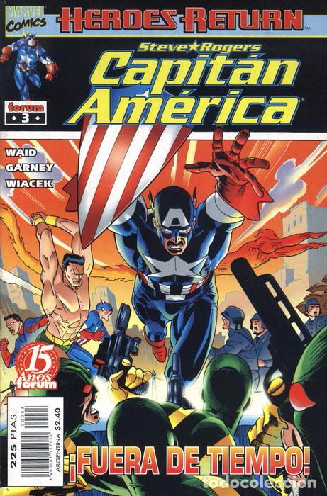 CAPITÁN AMÉRICA VOL.4 Nº 3 FORUM NUEVO (Tebeos y Comics - Forum - Capitán América)