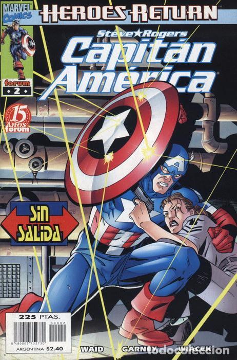 CAPITÁN AMÉRICA VOL.4 Nº 2 FORUM NUEVO (Tebeos y Comics - Forum - Capitán América)