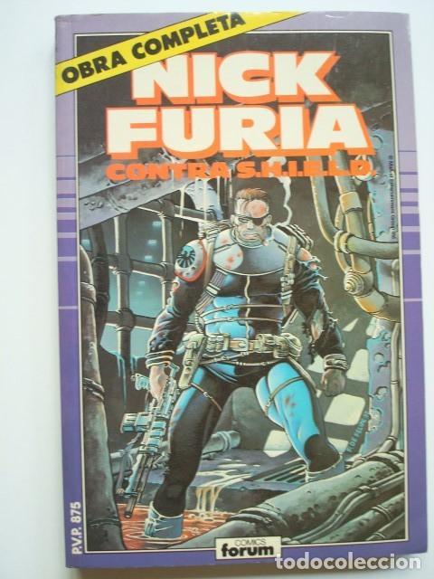 NICK FURIA CONTRA SHIELD OBRA COMPLETA (1 AL 9) (1,2,3,4,5,6,7,8,9) S.H.I.E.L.D. (FORUM) (Tebeos y Comics - Forum - Furia)
