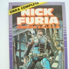 Cómics: NICK FURIA CONTRA SHIELD OBRA COMPLETA (1 AL 9) (1,2,3,4,5,6,7,8,9) S.H.I.E.L.D. (FORUM). Lote 94317978