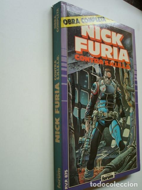 Cómics: Nick Furia contra Shield obra COMPLETA (1 al 9) (1,2,3,4,5,6,7,8,9) S.H.I.E.L.D. (Forum) - Foto 2 - 94317978