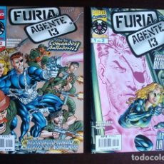 Cómics: FURIA AGENTE 13 Nº 1 AL 2 MINISERIE COMPLETA (NICK FURIA) (FORUM). Lote 94318174