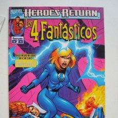 Cómics: LOS 4 FANTÁSTICOS VOL. 3 HEROES RETURN Nº 2 (FORUM). Lote 94327230