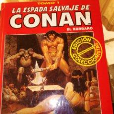 Cómics: LA ESPADA SALVAJE DE CONAN TOMO 1 EDICIÓN COLECCIONISTAS. Lote 94339186