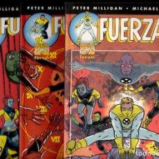 Cómics: FUERZA-X COMPLETA 3 TOMOS - FORUM . Lote 94346402