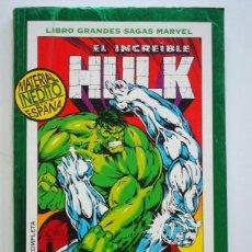 Cómics: HULK LIBRO GRANDES SAGAS MARVEL Nº 12 FANTASMAS DEL PASADO (FORUM). Lote 147997012