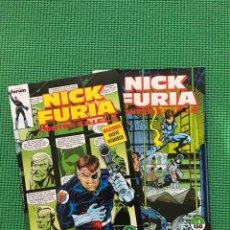 Cómics: NICK FURIA CONTRA S.H.I.E.L.D - NºS 2 Y 3. Lote 94429110