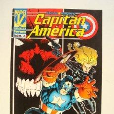 Comics : CAPITÁN AMÉRICA VOL. 3 Nº 3 STEVE ROGERS (VOLUMEN III) FORUM. Lote 94461022