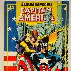 Cómics: CAPITÁN AMÉRICA ALBUM ESPECIAL CON DOS NUMEROS EXTRA (ESPECIAL PRIMAVERA Y ESPECIAL VERANO 1987). Lote 175067545