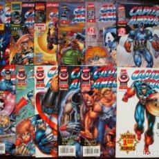 Capitán América Heroes reborn nº 1 al 12 Colección COMPLETA (Forum)