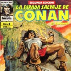 Cómics: LA ESPADA SALVAJE DE CONAN EL BÁRBARO 6. Lote 94511558