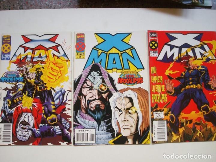 X-MAN VOL. 1 Nº 1 (FORUM) LA ERA DE APOCALIPSIS (Tebeos y Comics - Forum - X-Men)