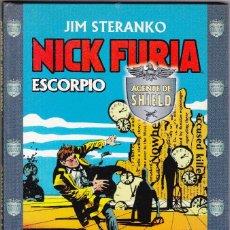 Cómics: TOMO TAPA DURA NICK FURIA AGENTE DE SHIELD. ESCORPIO JIM STERANKO.. Lote 94538139