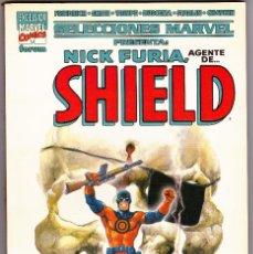 Cómics: SELECCIONES MARVEL NICK FURIA AGENTE DE SHIELD - LA MUERTE DE NICK FURIA - FORUM . Lote 94538619
