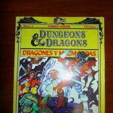 Comics - DUNGEONS & DRAGONS = Dragones y Mazmorras. 3 : En busca del Amo del Calabozo - 94545823