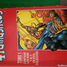 Cómics: LOS 4 FANTÁSTICOS VOLUMEN 3, LOS 20 PRIMEROS NÚMEROS EN 4 RETAPADOS. Lote 94579928