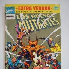 Cómics: LOS NUEVOS MUTANTES EXTRA VERANO 1992 (FORUM) LOS REYES DEL DOLOR. Lote 94630139