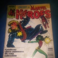 Cómics: MARVEL HEROES RETAPADO ESTADO NORMAL FALTA 1 NUMERO . Lote 94834943
