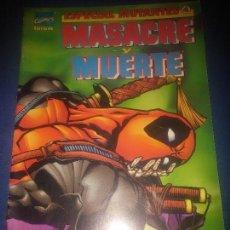 Cómics: MASACRE Y MUERTE FORUM ESTADO MUY BUENO. Lote 94915775