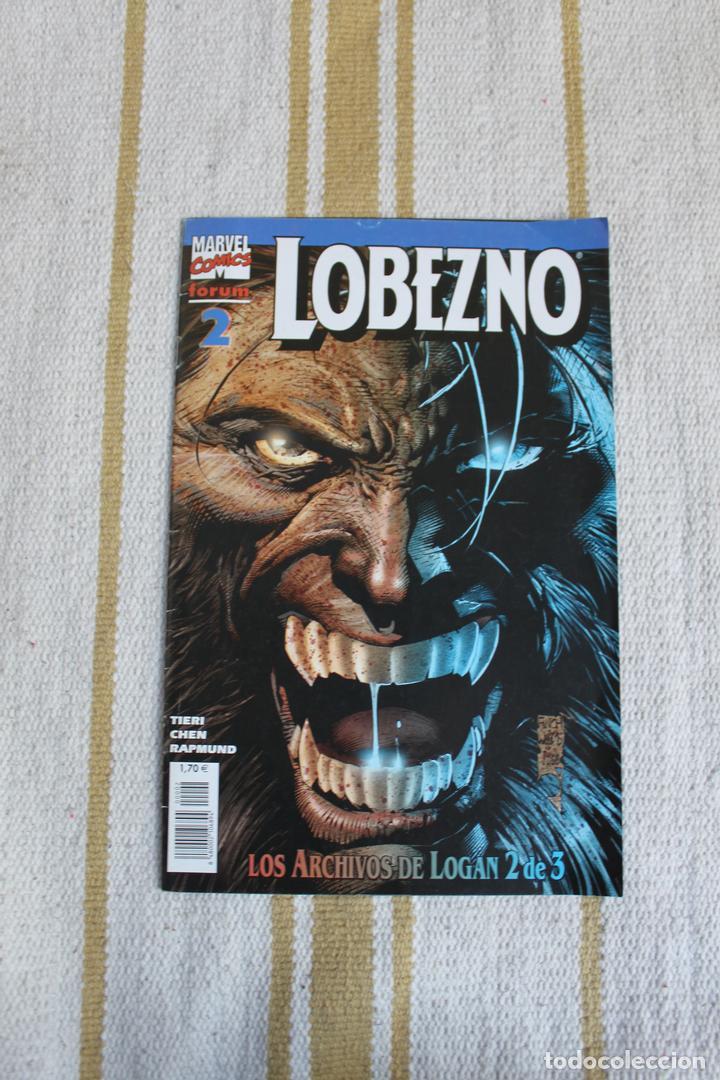 LOBEZNO Nº 2: LOS ARCHIVOS DE LOGAN: (Tebeos y Comics - Forum - Otros Forum)
