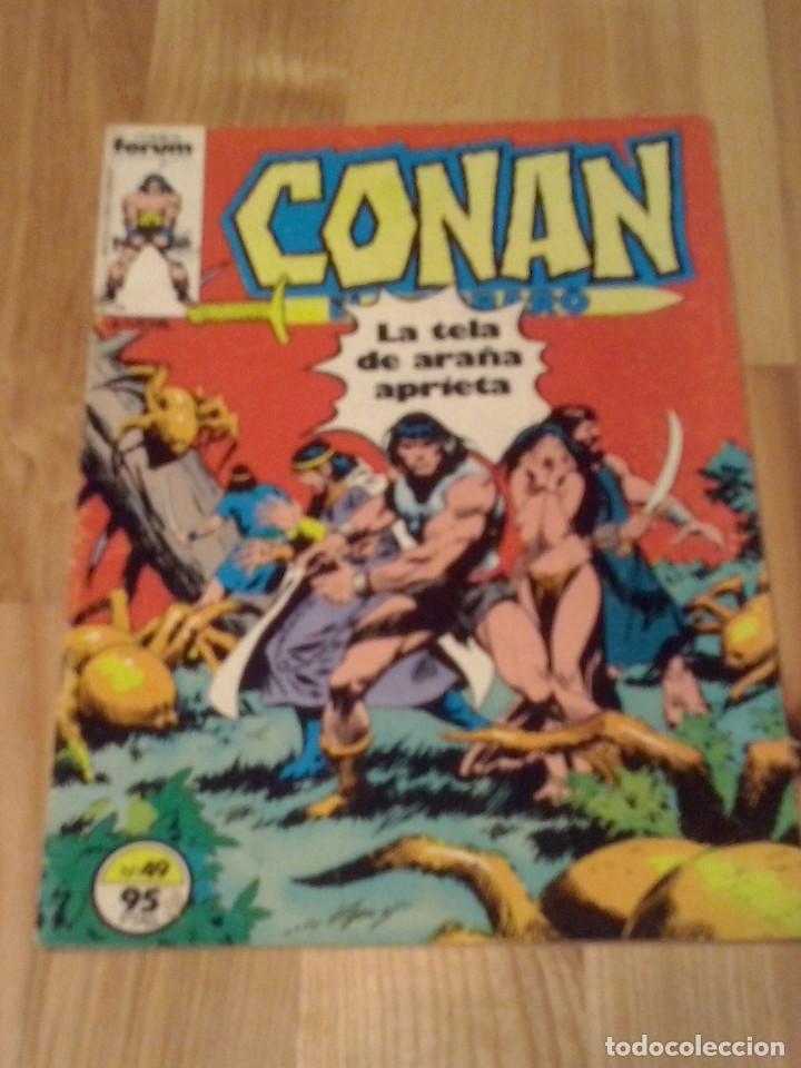 COMIC CONAN EL BARBARO FORUM PLANETA NUMERO 49 (Tebeos y Comics - Forum - Conan)