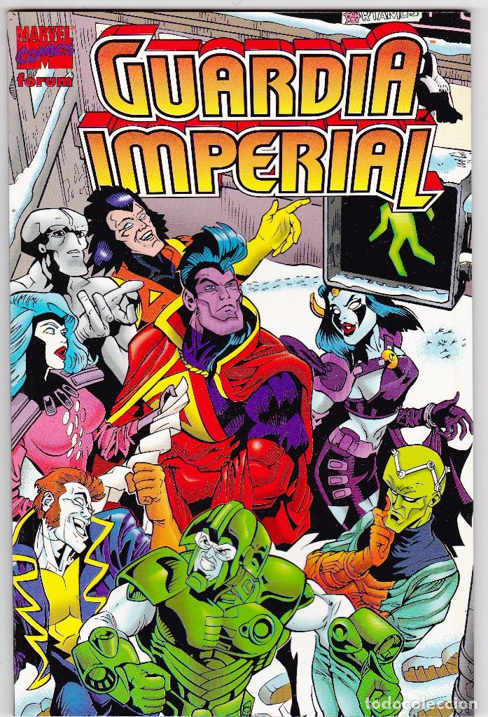 GUARDIA IMPERIAL ( BRIAN AUGUSTYN CHUCK WOJTKIEWICZ ) MARVEL FORUM 1997 (Tebeos y Comics - Forum - Prestiges y Tomos)