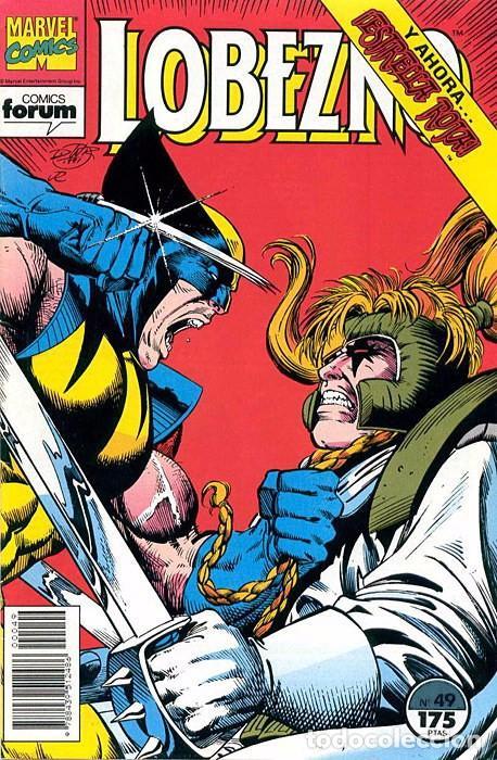 LOBEZNO VOL.1 Nº 49 - FORUM (Tebeos y Comics - Forum - Otros Forum)