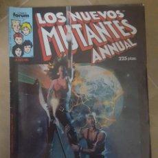Cómics: LOS NUEVOS MUTANTES ANNUAL ESPECIAL PRIMAVERA FORUM. Lote 44624863