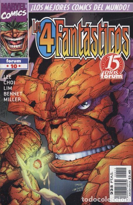 HEROES REBORN: LOS 4 FANTÁSTICOS VOL.1 Nº 10 - FORUM - EJEMPLAR NUEVO (Tebeos y Comics - Forum - 4 Fantásticos)
