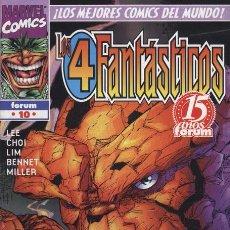 Cómics: HEROES REBORN: LOS 4 FANTÁSTICOS VOL.1 Nº 10 - FORUM - EJEMPLAR NUEVO. Lote 83491468
