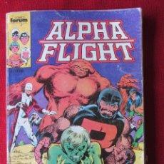 Cómics: ALPHA FLIGHT Nº 2-3-4-5. RETAPADO. COMICS FORUM. Lote 95138407
