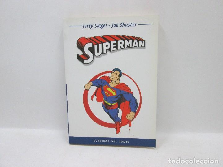 CLÁSICOS DEL CÓMIC - SUPERMAN - JERRY SIEGEL Y JOE SHUSTER 2004 (Tebeos y Comics - Forum - Spiderman)