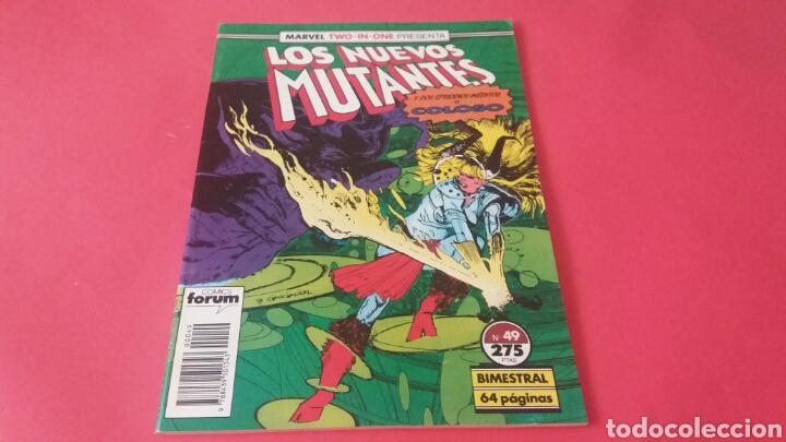 LOS NUEVOS MUTANTES 49 EXCELENTE ESTADO FORUM (Tebeos y Comics - Forum - Otros Forum)