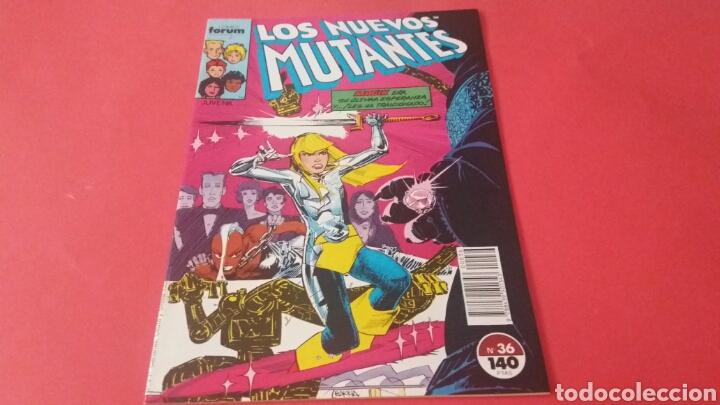 LOS NUEVOS MUTANTES 36 EXCELENTE ESTADO FORUM (Tebeos y Comics - Forum - Otros Forum)