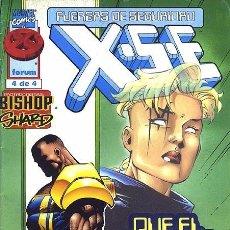 Cómics: XSE FUERZAS DE SEGURIDAD X-MEN VOL.1 Nº 4 - FORUM IMPECABLE. Lote 95405315
