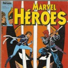 Cómics: MARVEL HEROES RETAPADO NºS 1 AL 5 KITTY PRYDE Y LOBEZNO-PUNISHER (FORUM 1986). Lote 95405795
