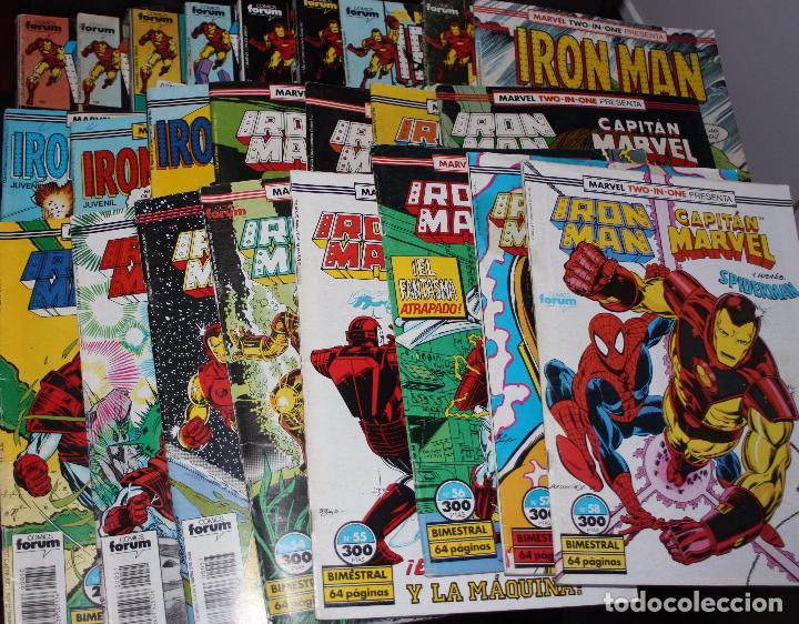 IRON MAN VOL.1(FÓRUM) LOTE AVANZADO DE 37 EJEMPLARES.(PRECIO REDONDO) (Tebeos y Comics - Forum - Iron Man)