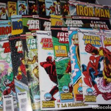 Cómics: IRON MAN VOL.1(FÓRUM) LOTE AVANZADO DE 34 EJEMPLARES.(PRECIO REDONDO). Lote 95425403