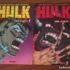 Cómics: HULK MR.FIXT 1 Y 2 FORUM. Lote 95448371