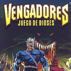Cómics: LOS VENGADORES: JUEGO DE DIOSES - TOMO FORUM.. Lote 95449623