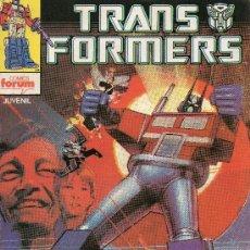 Cómics: TRANSFORMERS NUMERO 1. VOLUMEN 1 FORUM.. Lote 95450127