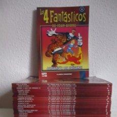 LOS 4 FANTASTICOS DE JOHN BYRNE COLECCION COMPLETA, 25 Nº PLANETA ¡¡¡EXCELENTE ESTADO!!!!!
