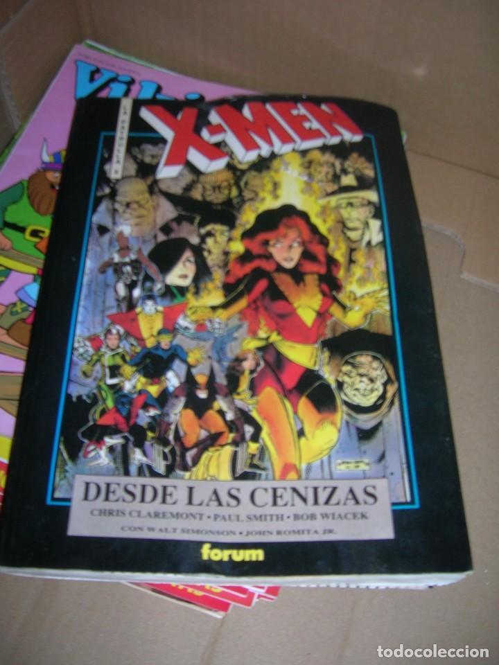 X-MEN. LA PATRULLA X. DESDE LAS CENIZAS. FORUM. 1991. (Tebeos y Comics - Forum - Patrulla X)