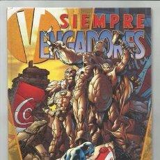 Comics: SIEMPRE VENGADORES, 2004, COLECCIÓN COMPLETA EN UN TOMO, BUEN ESTADO. Lote 183241733