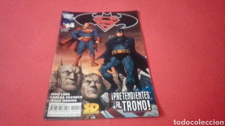 SUPERMAN BATMAN 14 EN BUEN ESTADO FORUM (Tebeos y Comics - Forum - Otros Forum)