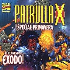 Cómics: PATRULLA-X ESPECIAL PRIMAVERA 2002 - FORUM IMPECABLE. Lote 95571439