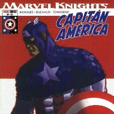 Cómics: MARVEL KNIGHTS: CAPITÁN AMÉRICA 21 IMPECABLE. Lote 95571575