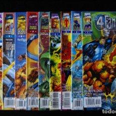 Cómics: LOS 4 FANTÁSTICOS VOLUMEN/VOL 2, HEROES REBORN. COMPLETA A FALTA DE DOS NºS (10/12). FORUM.. Lote 95602831