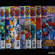 Cómics: LOS 4 FANTÁSTICOS VOLUMEN/VOL 3, HEROES RETURN. 11 NºS: 5,7,8,9,10,11,12,13,14,16 Y 32. FORUM.. Lote 95603275